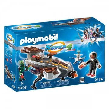 Playset Super 4 Playmobil 9408 (51 pcs)