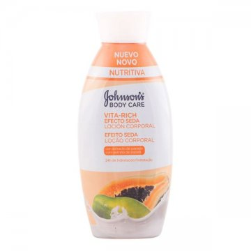Papaya Dry Skin Body Lotion Vita-rich Johnson's 11012